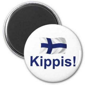 フィンランドKippis! マグネット