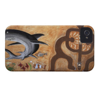 フィージーの壁の壁画 Case-Mate iPhone 4 ケース