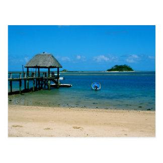 フィージー- Maloloの島で見つけられる楽園 ポストカード