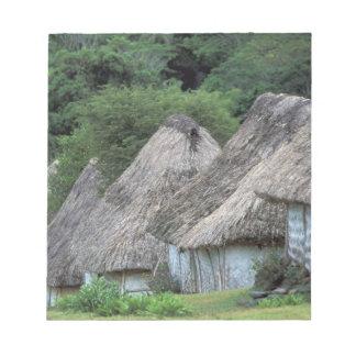フィージー、Vitiの昔ながらのな小屋の家 ノートパッド