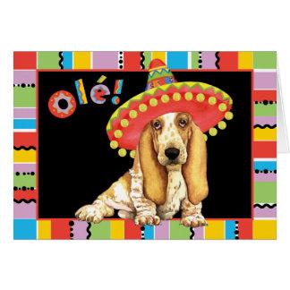 フェスタのバセット犬 カード