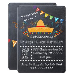 フェスタの招待状、フェスタのパーティー、フェスタの誕生日 カード
