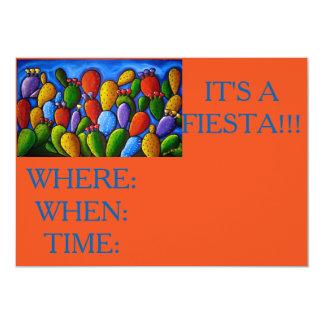 フェスタの招待 カード