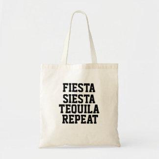 フェスタの昼寝のテキーラの繰り返しのベストセラーのトート トートバッグ