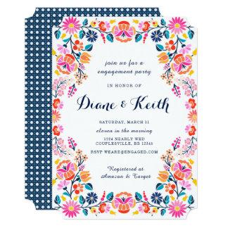 フェスタの花嫁の婚約の招待状 カード
