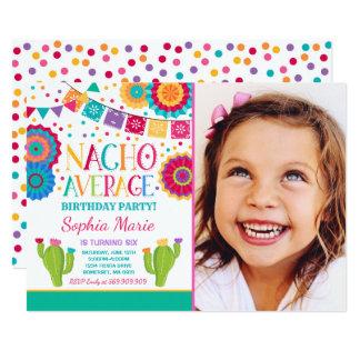 フェスタの誕生日の招待状のNacho平均パーティー カード