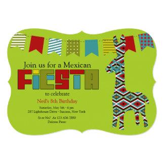 フェスタのBurroの招待状 カード