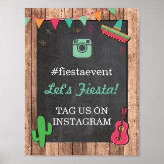 フェスタのInstagramの印の写真の結婚式のイベントのパーティー ポスター