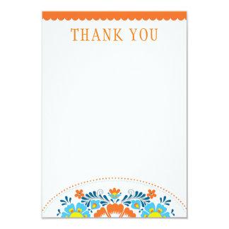 フェスタはメッセージカード感謝していしています 8.9 X 12.7 インビテーションカード