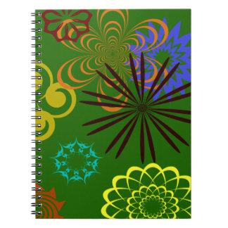 フェスティバルは螺線形ノートを設計します ノートブック