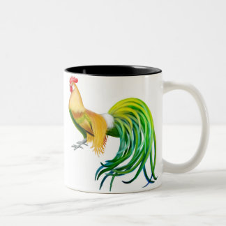 フェニックスのオンドリのマグ ツートーンマグカップ