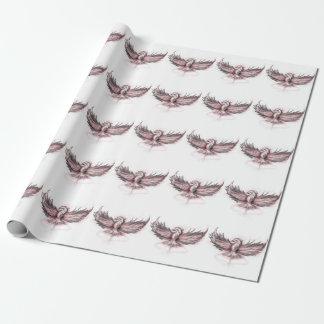 フェニックスの上昇の包装紙 ラッピングペーパー