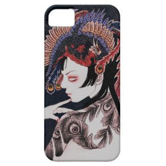 フェニックスの中国のスタイル iPhone SE/5/5s ケース