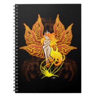 フェニックスの妖精の子馬 ノートブック