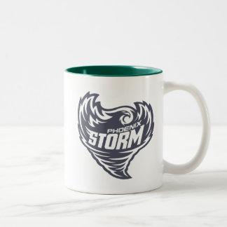 フェニックスの嵐のフットボールクラブ ツートーンマグカップ