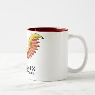 フェニックスの標準のマグ ツートーンマグカップ