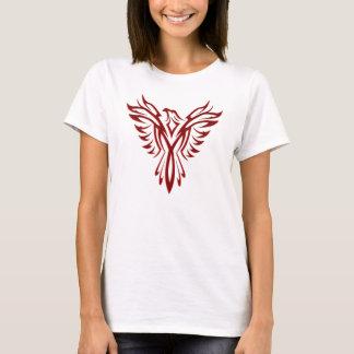 フェニックスの深紅色の上昇 Tシャツ