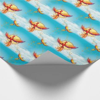 フェニックスの火の鳥の上昇 包装紙