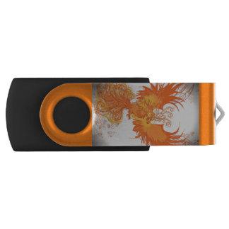 フェニックスの火-名前入りなUSBの記憶棒 USBフラッシュドライブ