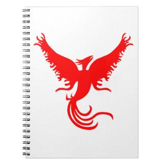 フェニックスの神話上の鳥 ノートブック