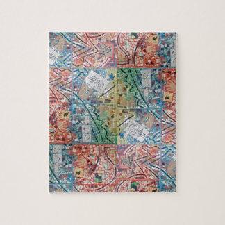 フェニックスの芸術のパッチワークのモザイクパズル ジグソーパズル