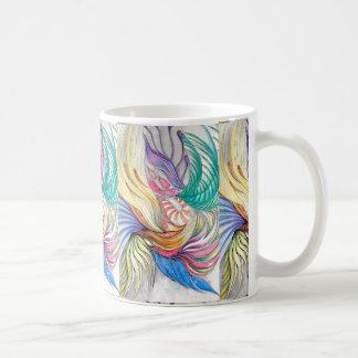 フェニックスの葉状体のマグ コーヒーマグカップ