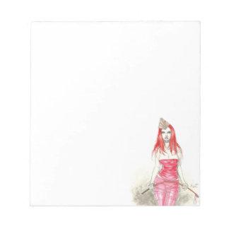 フェニックスの赤い上昇のメモ帳 ノートパッド