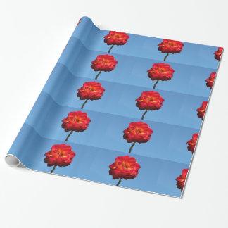 フェニックスは空包む紙に上がりました ラッピングペーパー