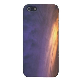 フェニックス上の日没 iPhone 5 COVER