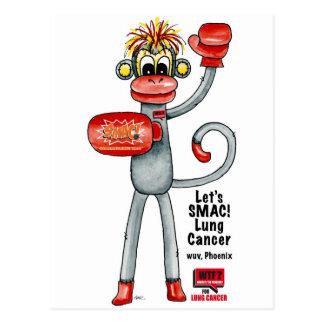 フェニックス肺癌SMAC! 猿-ボクシング! ポストカード