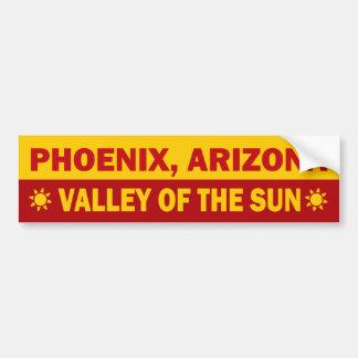 フェニックス、アリゾナのバンパーステッカー バンパーステッカー