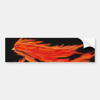 フェニックスFirebirdのバンパーステッカー バンパーステッカー