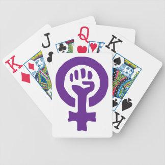 フェミニズムの記号 バイスクルトランプ