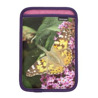 フェミニンなButterfly色彩の鮮やかな女性 iPad Miniスリーブ