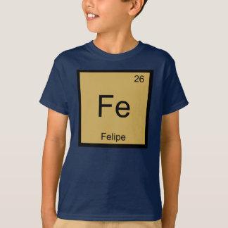 フェリペ一流化学要素の周期表 Tシャツ