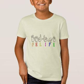 フェリペASL FINGERSPELLEDの一流の印 Tシャツ