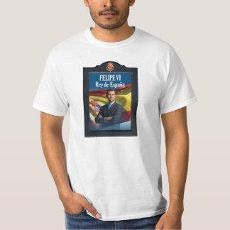 フェリペVI Rey de Espanaa Tシャツ