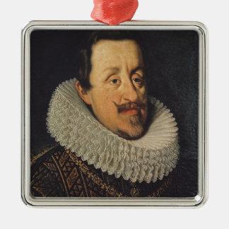 フェルディナントのポートレートハプスブルクのII、1622-37年 メタルオーナメント