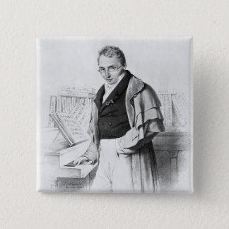 フェルディナントHerold 5.1cm 正方形バッジ