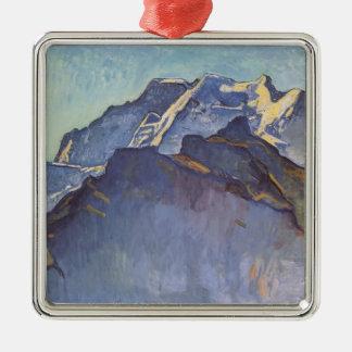 フェルディナントHodler- Jungfrau中央山塊およびSchwarzmonch メタルオーナメント
