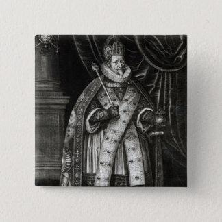フェルディナントII 1622年 5.1CM 正方形バッジ