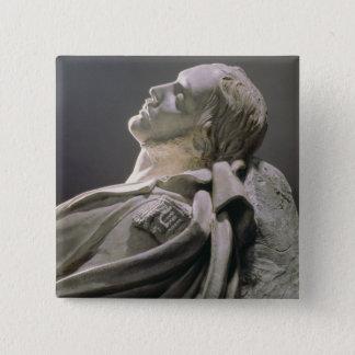 フェルディナントPhilippeの(1810-42年の) ducのd'Orleaの彫像 5.1cm 正方形バッジ