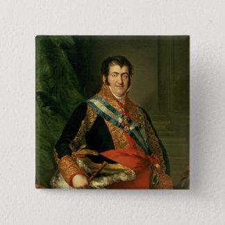 フェルディナントVII 1808-11年 5.1CM 正方形バッジ