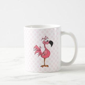 フェルナンドのフラミンゴ コーヒーマグカップ