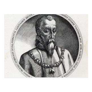 、フェルナンドAlvarez deトレドアルバの2の第3公爵 ポストカード