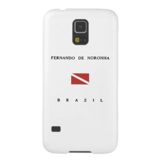 フェルナンドDe Noronhaブラジルのスキューバ飛び込みの旗 Galaxy S5 ケース