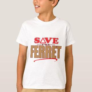 フェレットの保存 Tシャツ