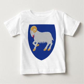 フェロー諸島(デンマーク)の紋章付き外衣 ベビーTシャツ