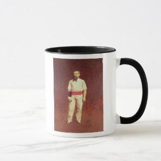 フェンシングの服1889年のリチャード・バートン マグカップ