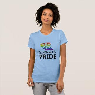 フェーエットビルのプライドのロゴのティー Tシャツ